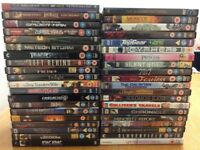 40 used DVDs