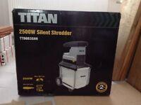 TITAN 2500W Silent Shredder