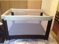 Travel cot and changing mat