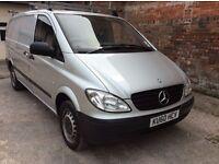 Mercedes Vito 109 CDI Lwb Silver, 2148cc, 86k