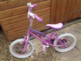 Girls Disney princess bike (age 3-6yrs approx)