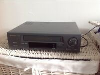 VHS video player Sharp