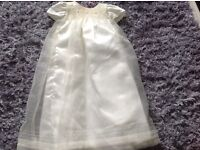 New long Chloe Louise child's christening dress age 6/12months