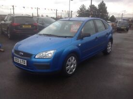 Ford Focus zetec lx 1.6 2005 only 70000 miles FSH MOT ONE YEAR 5 door ideal family car
