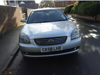 Kia Magentis 2.0L | High mileage but good condition and well maintained | Leather interiror and A/C