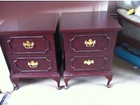Pair of bedside tables, very good condition. £50 for pair