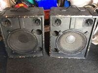 Pair of; 1 x 12inch Cabs.