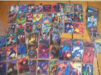 Marvel Apocalypse & Flair trading cards 1990s