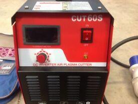 Cuts 20mm Mild Steel Inverter Plasma Cutter Cut60 230v Single Phase