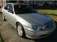 ROVER 75 CDTI CONNOISSEUR DIESEL AUTOMATIC SILVER