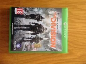 Xbox one game 'the division'