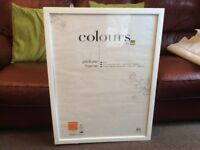 """Colours"" poster/picture frame"
