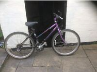 Ladies 16inch framed mountain bike