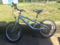 "Child's bike. 18"" wheel. Dawes Blowfish. Excellent condition."
