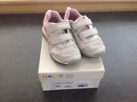 Girls Geox trainers, size 31, good condition