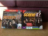 2x Twilight saga Scene-It DVD Board Games