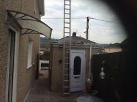 Set of alaminium ladders