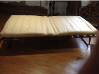 Collapsible sofa-bed style Z bed, Rutland. Very good condition. £40
