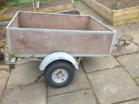 Galvanized Trailer 3' x 4'