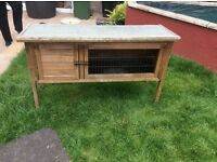 Used Guinea pig hutch