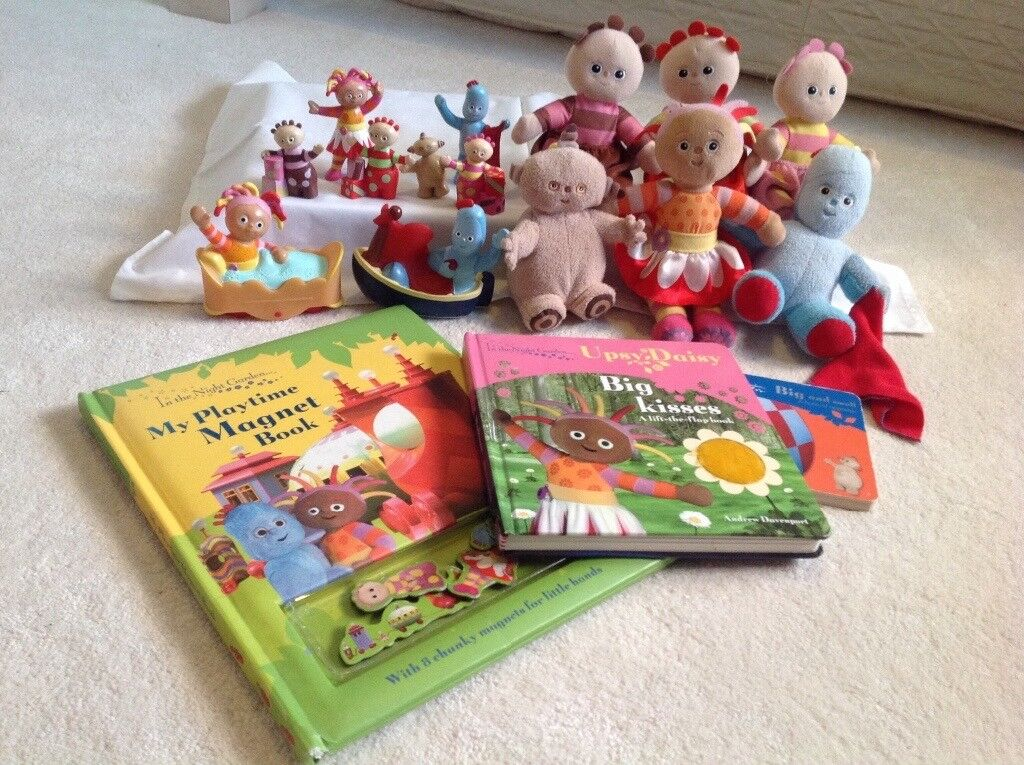 In The Night Garden toy bundle with 6 plush toys