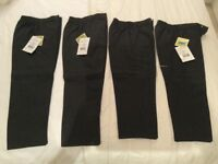 Trousers for school brand new size 3/4yrs & 5/6yrs
