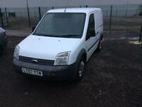 Ford transit conect crew van 5 seater mint condion no vat 12 months mot drives great