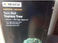 Topiary Tree With Lights