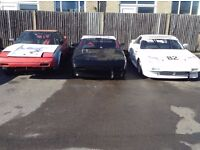 TOYOTA MR2 MK1, 3 x RACE SPEC TRACK CARS + LOADS OF SPARES AND PARTS
