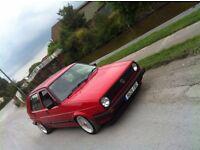VW Golf MK2 GTD (turbo diesel) Rare