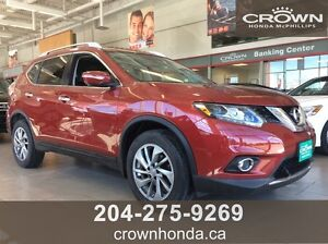 2015 NISSAN ROGUE SL AWD - NO ACCIDENTS - LEATHER - PANORAMIC S