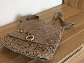 Crochet style handbag