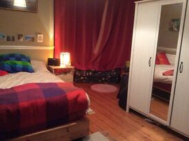 Beatiful double room with turret window in awesome redland houseshare!