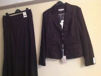 LADIES SUIT, NEXT. EXC CONDITION... AS NEW. Skirt size 14, Jacket Size 16