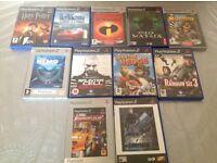PS2 game bundle (11 games)