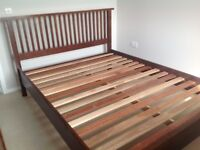 5ft wooden bed - Willis and Gambier