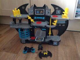 Imaginext Batman cave