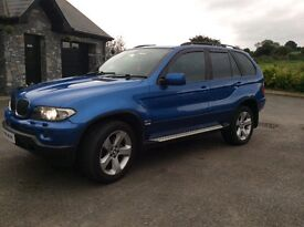 BMW X5 3.0d sport 4x4 in Estriol Blue Tv DVDs PlayStation not mercedes,audi,volkswagon