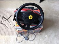 360 Spider Racing Wheel for PS2