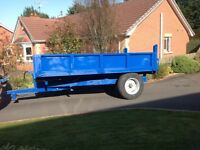 12x7ft tipping trailer