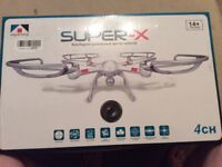 SUPER-X DRONE. BRAND NEW NEW NEVER USED