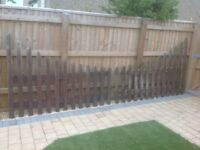 Fence Panels - Picket Style