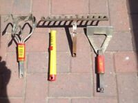 Wolf garden tools 4 items £12 for the lot .