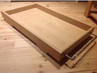 Cot top baby changing table