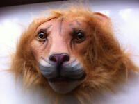 Lion Mask Latex Head Mask Rubber Animal Mask Novelty Costume masks