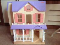 Fisher price dolls house reduced price
