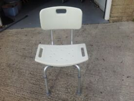 Shower Chair - Lightweight and Adjustable