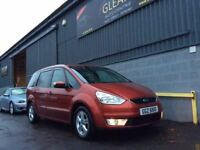 2007 Ford Galaxy Zetec 2.0Tdci 6G 7SEATER Mot & History. FINANCE AVAILABLE