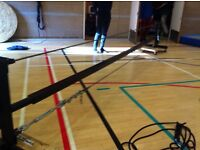 Circus Training Steel Tight Wire - Breaks down for transport!