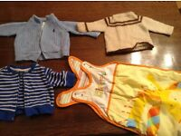Bundle boy baby clothes 0-3 months